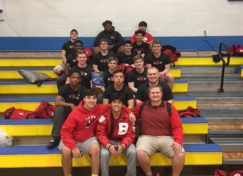 Boys Powerlifting takes 1st at Cove Invitational