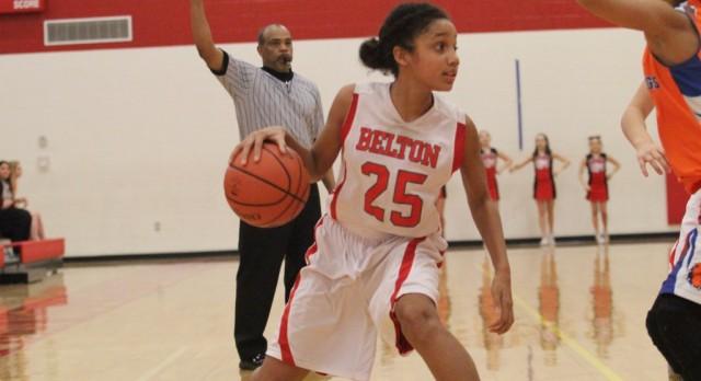 South Belton girl's basketball battled Bonham in three-game series