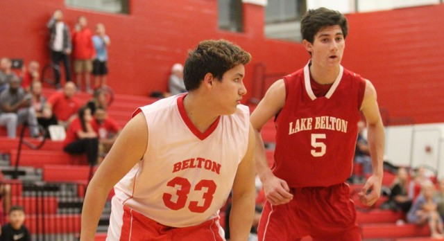 Exciting A team basketball ruled the day between Lake Belton and South Belton
