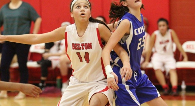 North Belton girl's hoops sweep Cove on final night of the season