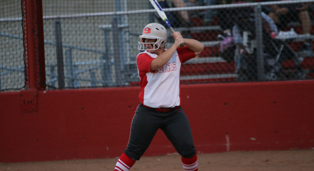 Cotton's no-hitter, Robinson's 5 RBI gives Lady Tigers 14-0 win over Irving MacArthur, bi-district series lead