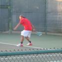 Varsity Tiger Tennis @ District Tournament Day2