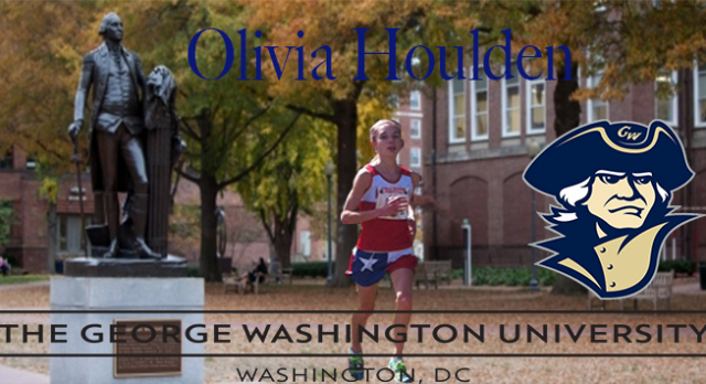 Olivia Houlden signs with George Washington University