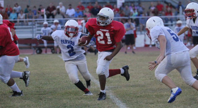 South Belton 7's split with Midway Blue
