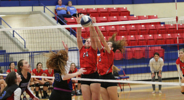 JV, Freshmen Red Lady Tigers play strong at Midway