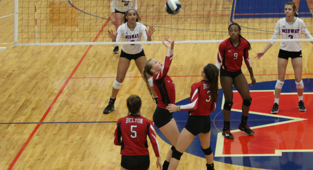 Despite loss to Midway, plenty of high points for Belton Volleyball