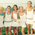Girls Tennis Wins Cache Valley Invitational