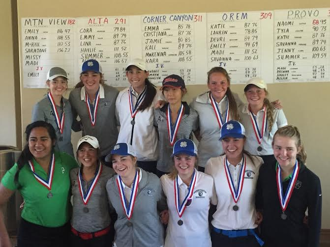 Girls Golf Region top 12