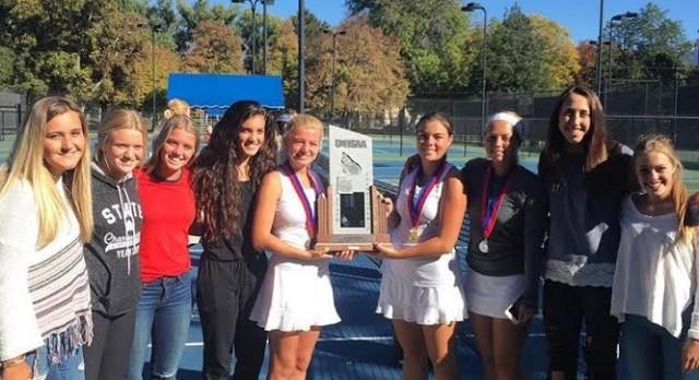 Girls Tennis takes 2nd at Region & State
