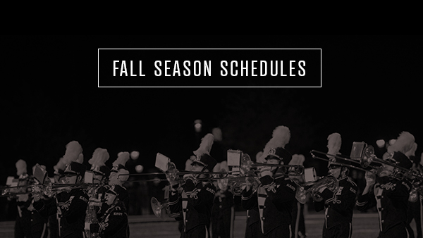 Fall Season Schedules Released