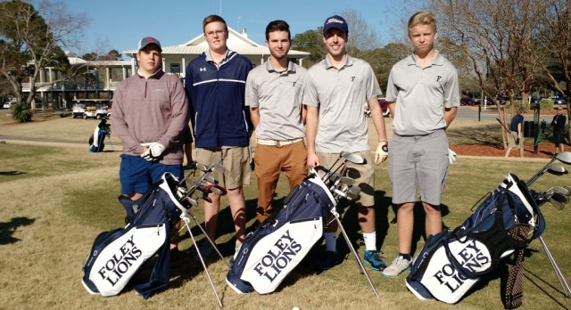 Boys Golf opens 2016 season