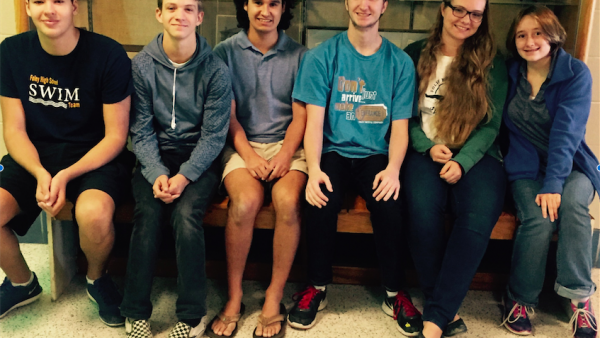 All-County Foley Swimmers 2015