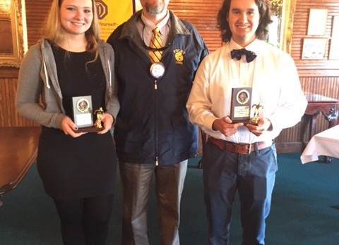 Foley Optimist Club Honors Foley Swimmers