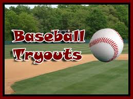 BASEBALL TRYOUTS DATES SET