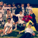 Boys Soccer: Celebrating a big win