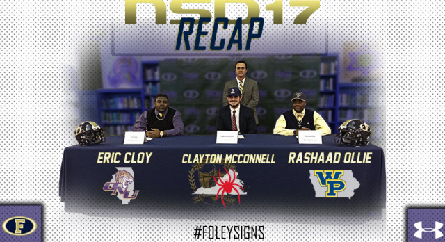 Foley Lions sign letters of intent