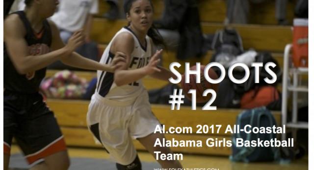 Shoots selected to Al.com's 2017 All-Coastal Basketball Team