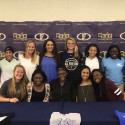Photo Gallery: Shoots Signs with Alabama Southern