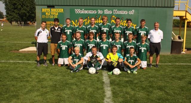 Northridge High School Varsity Soccer beat Bethany Christian High School 2-0