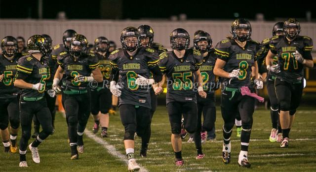 Northridge High School Varsity Football beat Bishop Dwenger High School 21-0