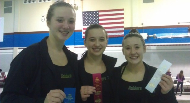 Northridge Girls Swim Finishes 5th at State Finals