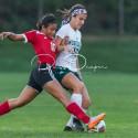 Varsity Girls Soccer Senior Recognition 9-21-17