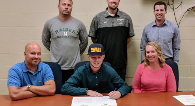 Trick signs to play baseball at Spring Arbor
