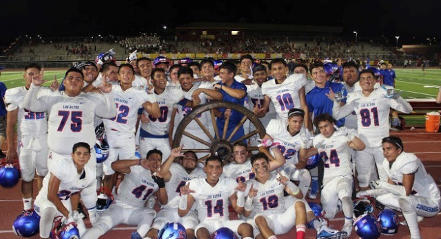 Los Altos Retains the Wheel After Blowout Victory