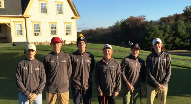Lions Golf Finishes Strong at WMass