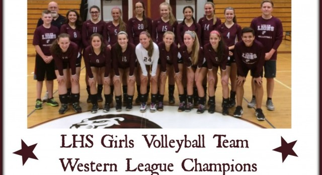 Ludlow Girls Volleyball Clinch League Title