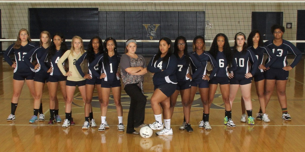 Varina High School Girls Varsity Volleyball beat Henrico High ...