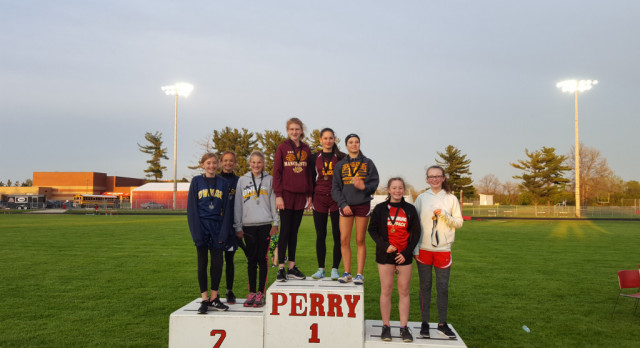 Perry MS Track Invitational Results