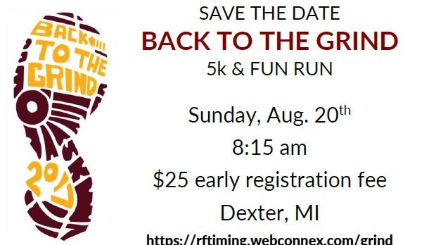 Dexter Athletics: The Grind 5K & Fun Run
