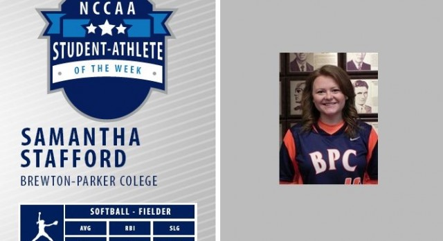 FORMER LADY MOUNTAINEER NAMED STUDENT-ATHLETE OF THE WEEK