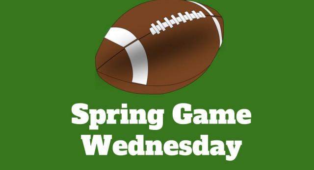 Spring Game Wednesday