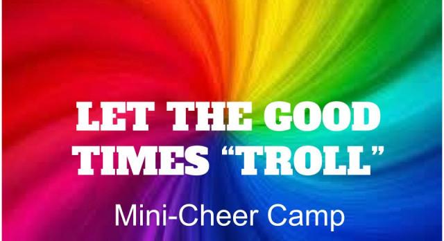 Mini Cheer Camp This Week