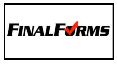 Don't Forget to Sign up on Final Forms