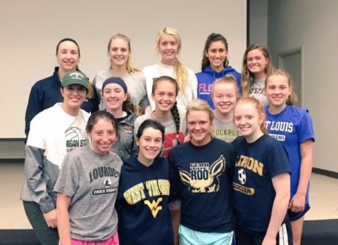 Congratulations Blue Streak College-Bound Student-Athletes