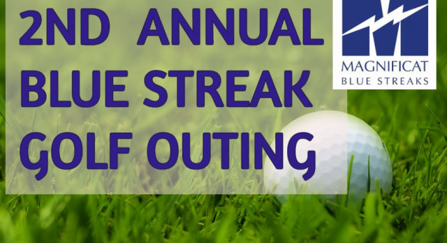 2nd Annual Blue Streak Golf Outing Registration is now OPEN!