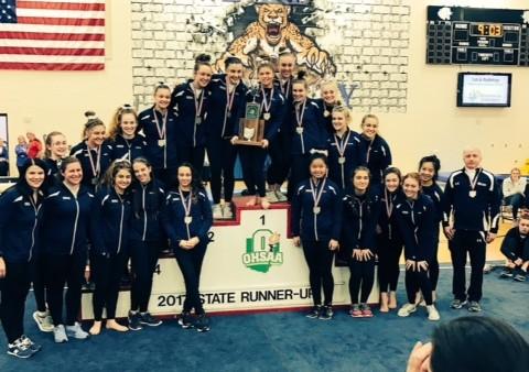 Gymnastics State Runner Up 2017