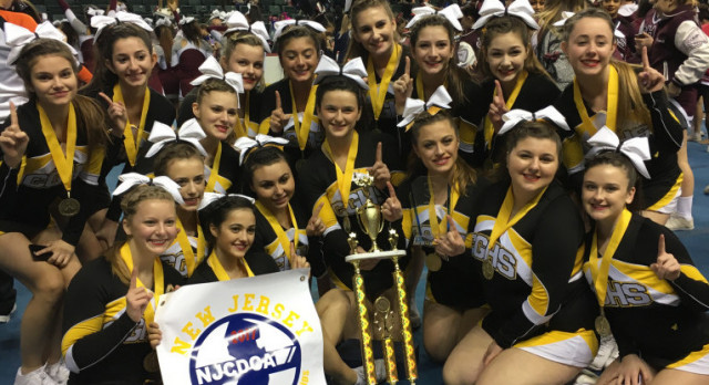 Cheer Team wins 2017 NJCDCA Group 1 Championship