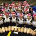 Cheerleaders take 1st