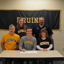 Nick Carlson Signs to play Soccer
