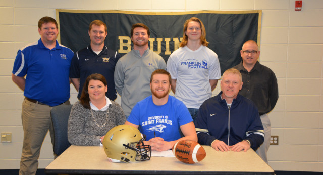 Casey Coll signs with University of St. Francis
