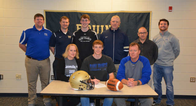 Jake Hill Signs with University of St. Francis