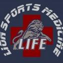 sports med lion logo