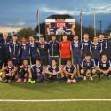 LSOC 2016 Soccer Varsity vs North Hills 3-11-16