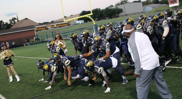 Lions Football Team Get Big District Win