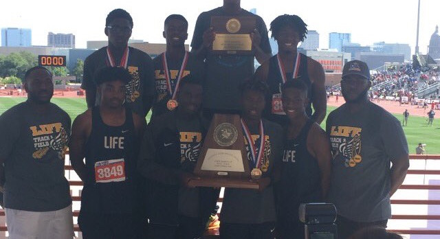 Life School Oak Cliff Runner-Up Finish in State Track Meet