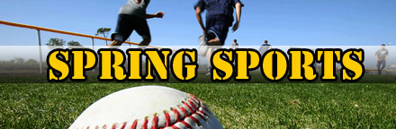 SPRING SPORTS REGISTRATION NOW OPEN!